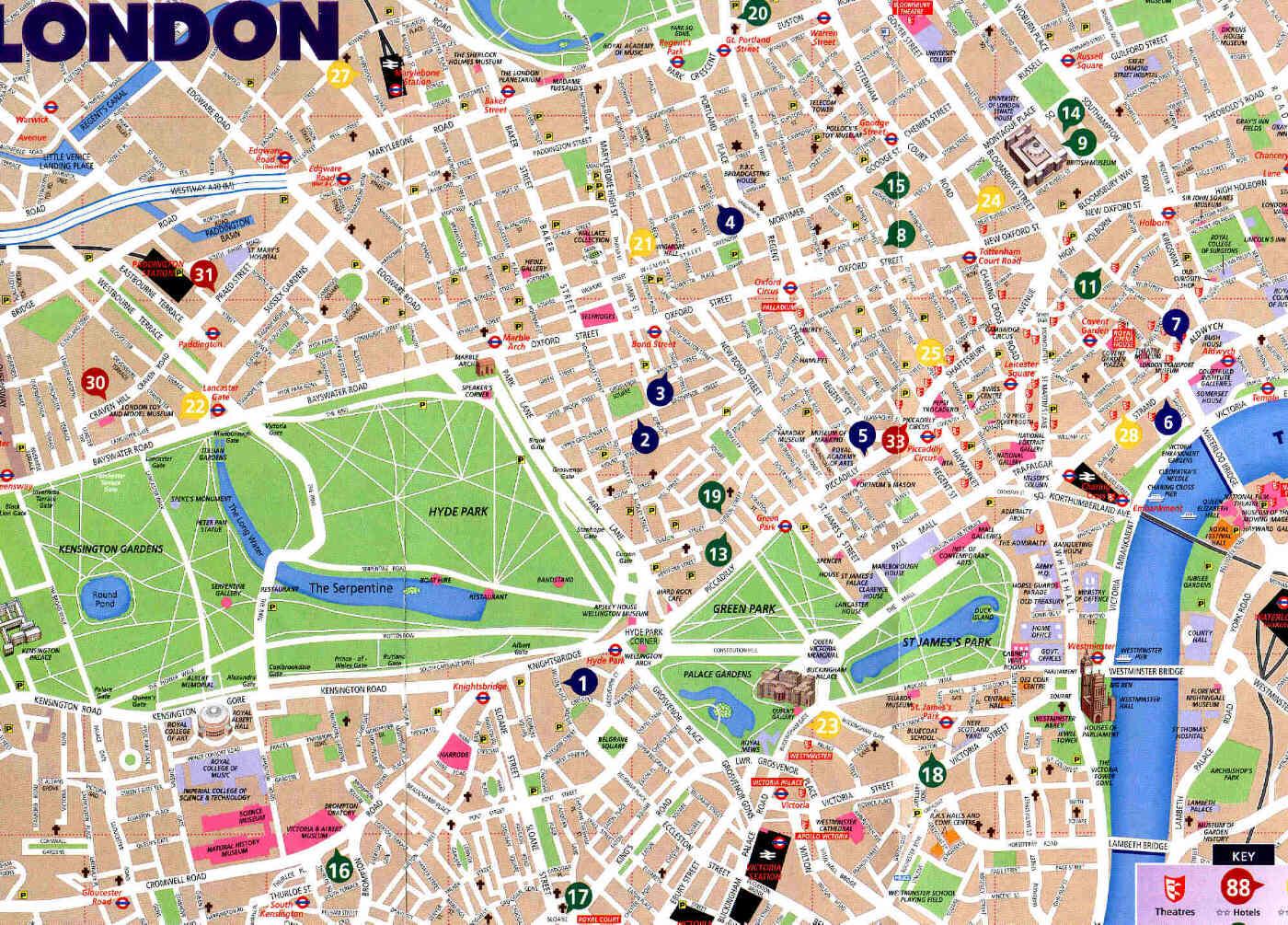 Hotel Central Park Londra