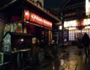 crane-shrine-at-night