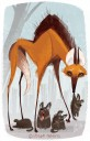 maned_wolf_and_cubs_by_steph_laberis-d6lgo3j