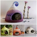 felted-cat-houses